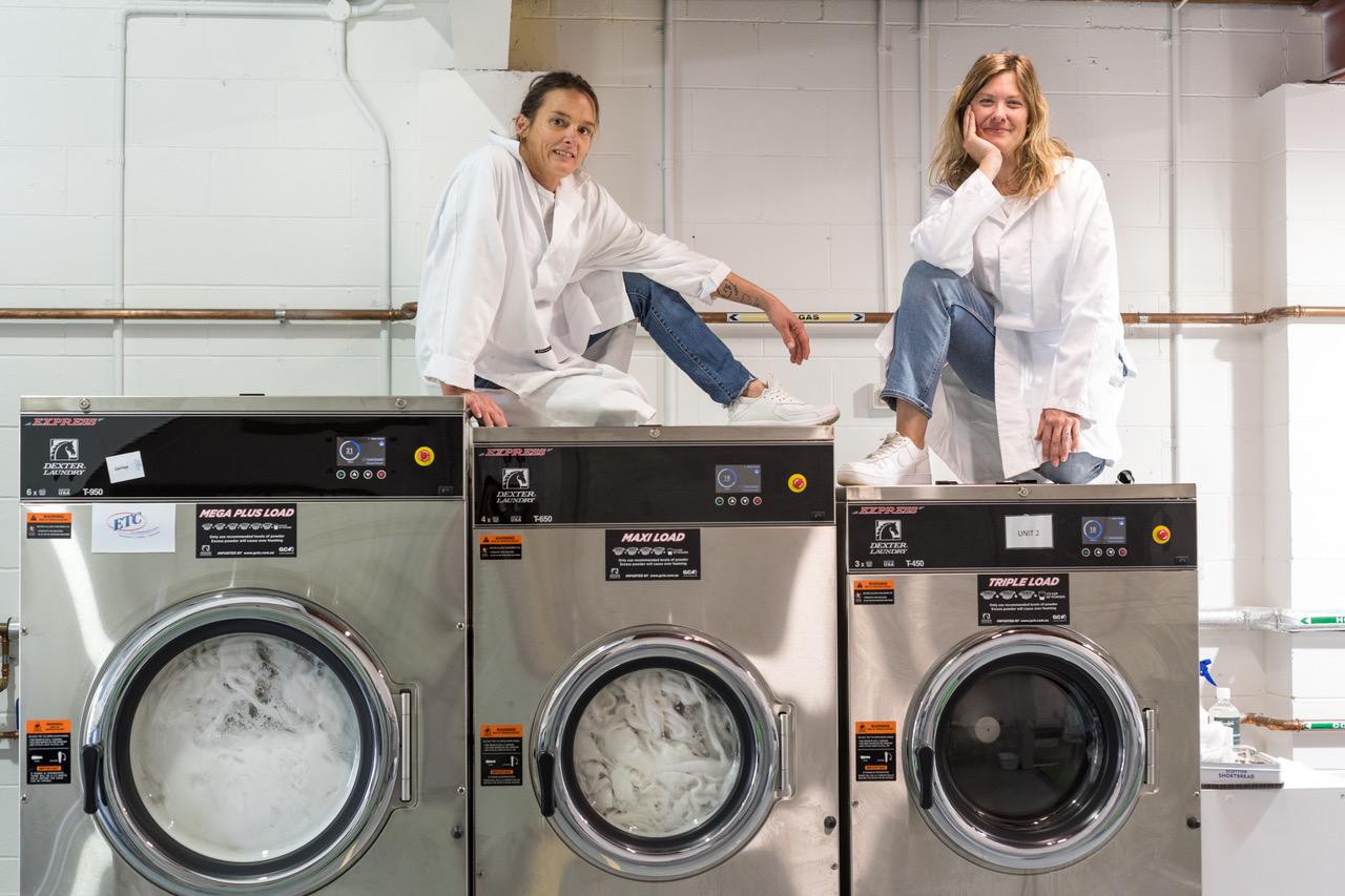 The Linen shift industrial washing machines